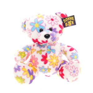 Teddywerkstatt-Plüsch-Teddybär-Blümchen