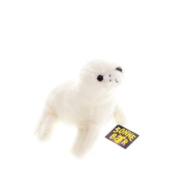 Teddywerkstatt-Plüsch-Robbe-Robbi-weiß