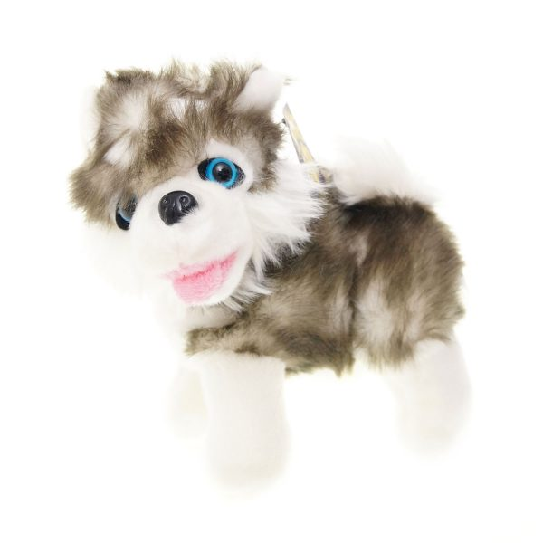 Teddywerkstatt-Plüsch-Husky-Fluffy-stehend