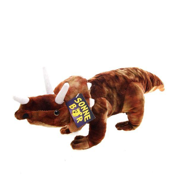 Teddywerkstatt-Plüsch-Dinos-Trica-braun
