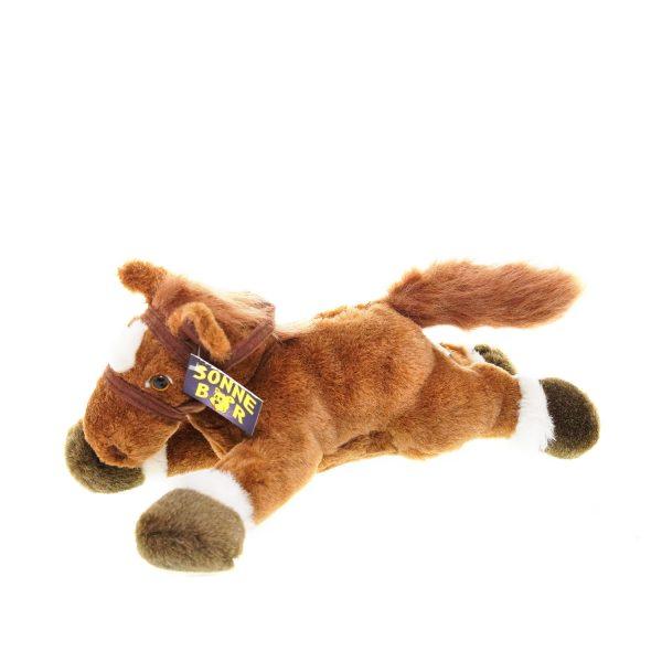 Teddywerkstatt-Plüsch-Pferd-Fjuri-dunkel
