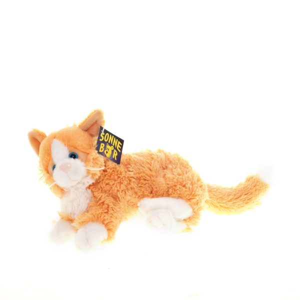 Teddywerkstatt-Plüsch-Katze-Garfield-braun