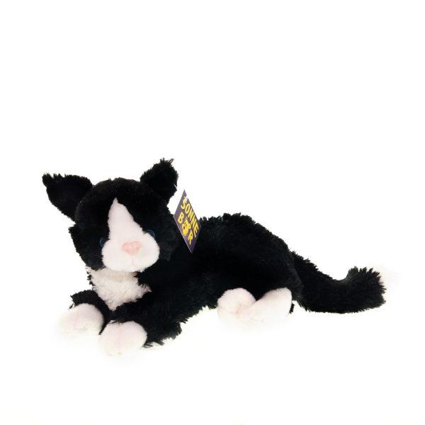 Teddywerkstatt-Plüsch-Katze-Tom-schwarz