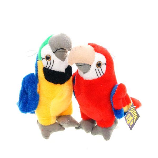 Teddywerkstatt-Plüsch-Papagei-Zahra-Zaida