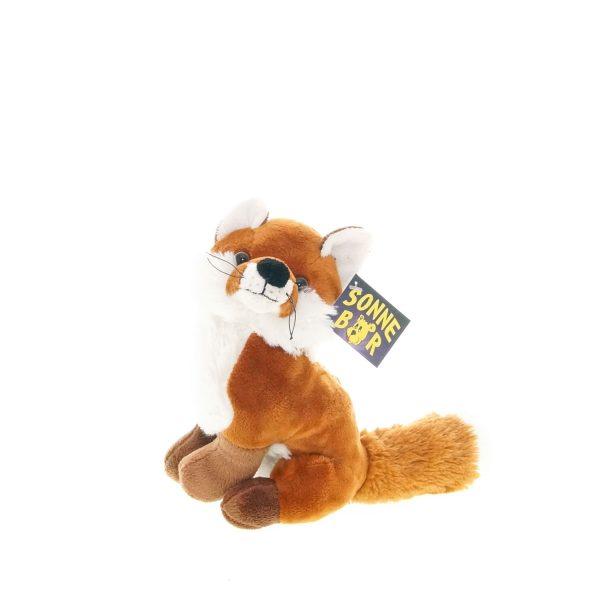 Teddywerkstatt-Plüsch-Fusch-Kapp-sitzend