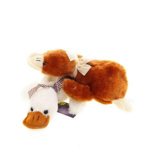 Teddywerkstatt-Plüsch-Ente-Quaky-beige-braun