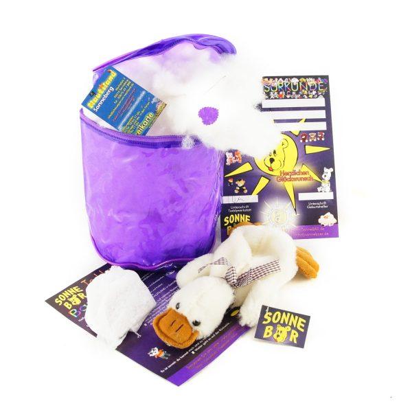 Teddywerkstatt-Bastelset-Ente-Quaky-beige