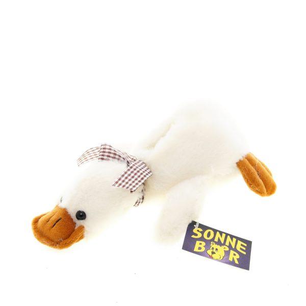 Teddywerkstatt-Plüsch-Ente-Quaky-beige