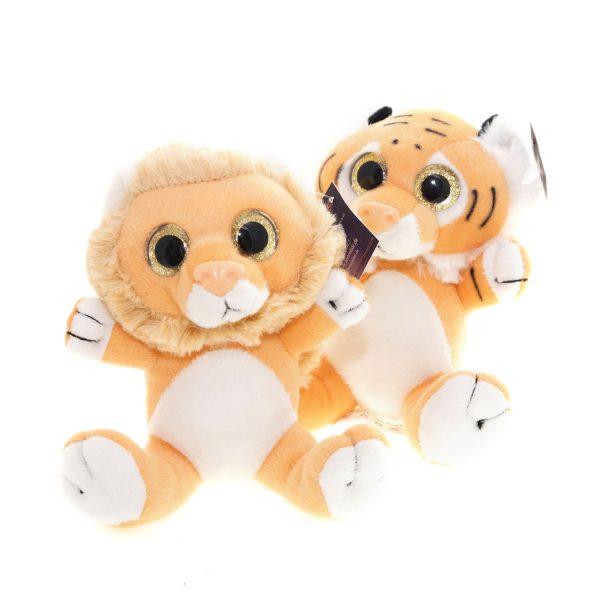 Teddywerkstatt-Plüsch-Löwe-Tiger-Sanny-Sonny