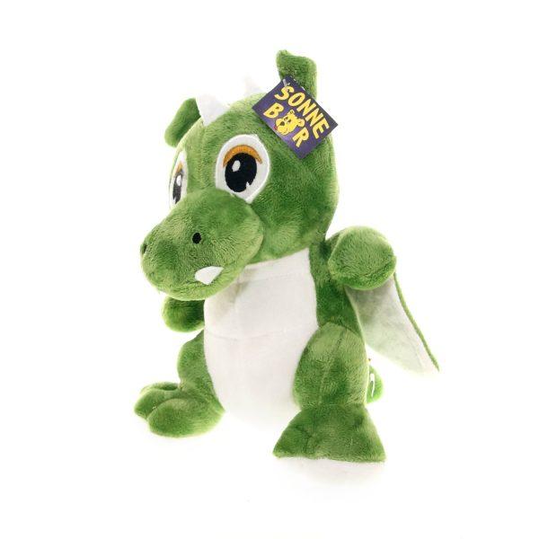Teddywerkstatt-Plüsch-Drachen-Grisu-vorn-grün