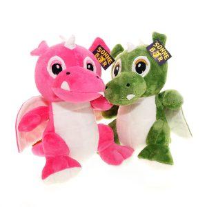 Plüschtier-Drachen Grisu & Risu