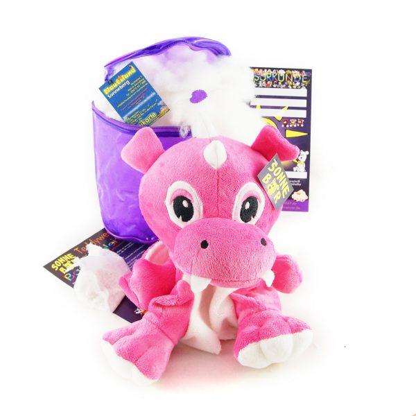 Teddywerkstatt-Bastelset-Plüsch-Drache-Risu-pink