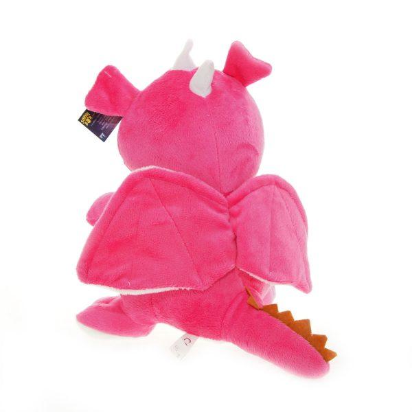 Teddywerkstatt-Plüsch-Drachen-Risu-hinten-pink