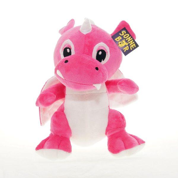 Teddywerkstatt-Plüsch-Drachen-Risu-vorn-pink