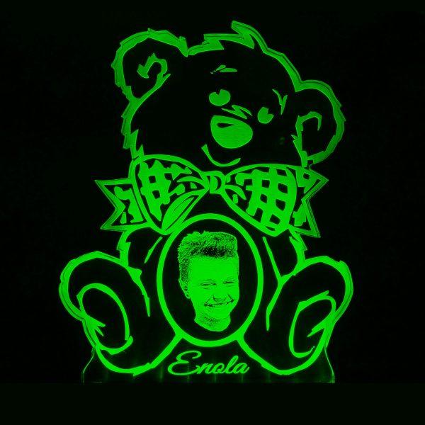 Teddywerkstatt-LED-Leuchte-Teddy-Foto-grün