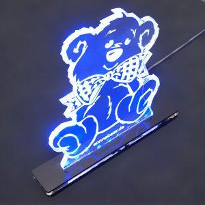 Teddywerkstatt-LED-Leuchte-Teddy-blau