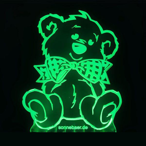 Teddywerkstatt-LED-Leuchte-Teddy-grün
