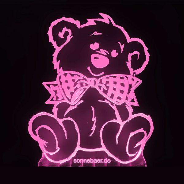 Teddywerkstatt-LED-Leuchte-Teddy-rosa
