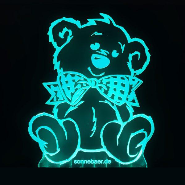 Teddywerkstatt-LED-Leuchte-Teddy-türkis