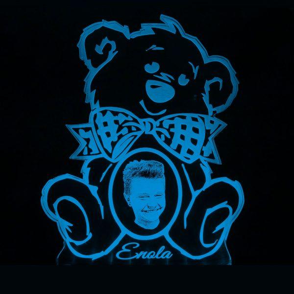 Teddywerkstatt-LED-Leuchte-Teddy-Foto-blau
